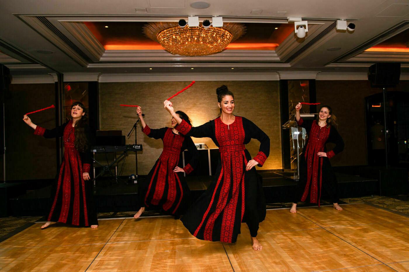 Jumeirah Carlton Tower Dabke dancing